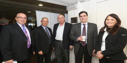 צוות המכון בכנס המהלך האסטרטגי ה20