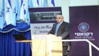 פרופסור אהרוני מרצה בכנס המהלך האסטרטגי ה19