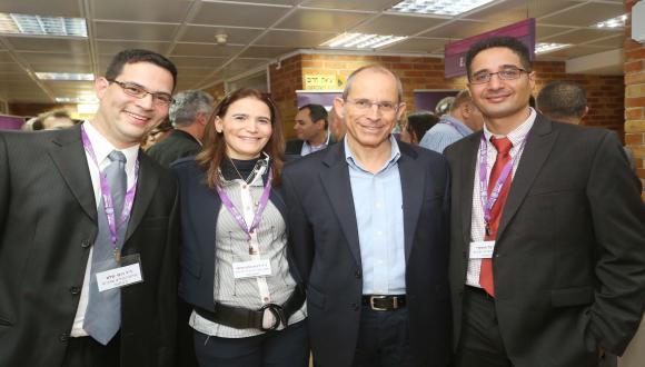 צוות המכון בכנס תחרות ורגולציה בענף המזון 2014