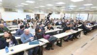 קהל באי כנס תחרות ורגולציה בענף המזון 2014