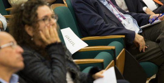 קהל המאזינים בכנס המהלך האסטרטגי 25