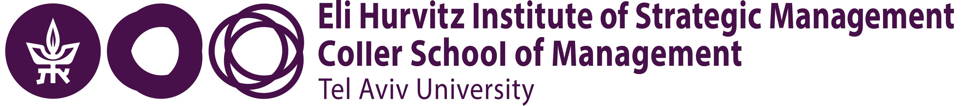 Eli Hurvitz Institute for Strategic Management Logo